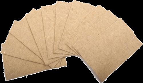 Hanfmatte, 40 x 25 cm, 10er Pack